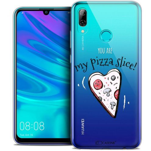 """Coque Crystal Gel Huawei P Smart 2019 (6.21"""") Extra Fine Love - My Pizza Slice"""
