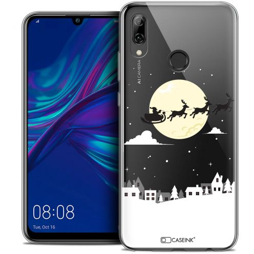 "Coque Crystal Gel Huawei P Smart 2019 (6.21"") Extra Fine Noël 2017 - Flying Stanta"