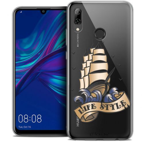"Coque Crystal Gel Huawei P Smart 2019 (6.21"") Extra Fine Tatoo Lover - Life Style"