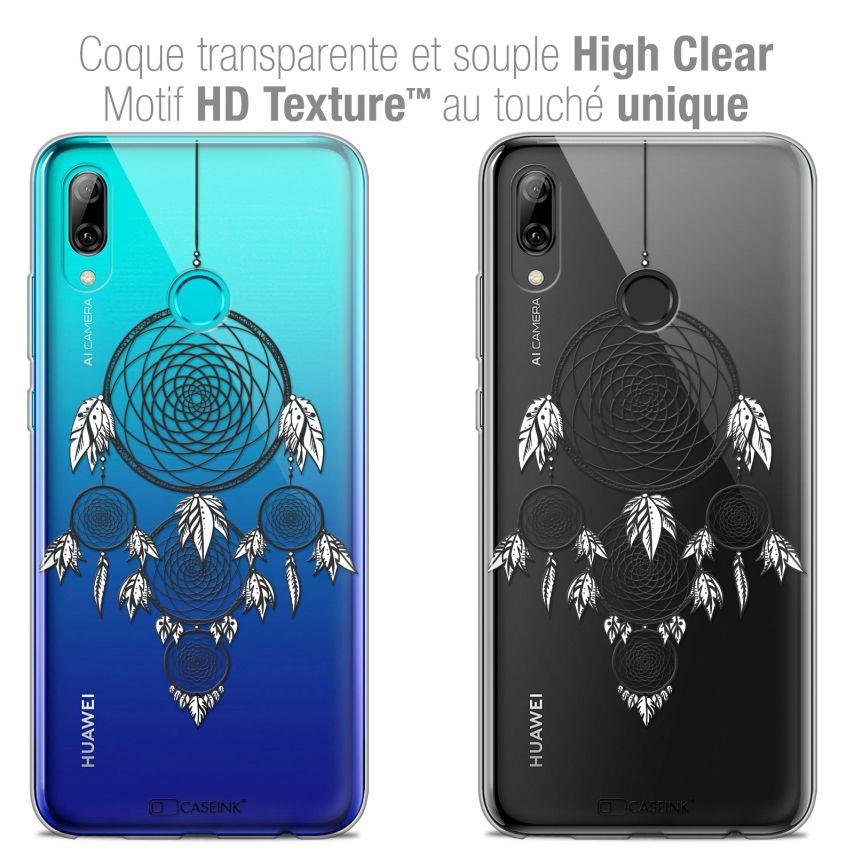 "Coque Crystal Gel Huawei P Smart 2019 (6.21"") Extra Fine Dreamy - Attrape Rêves NB"