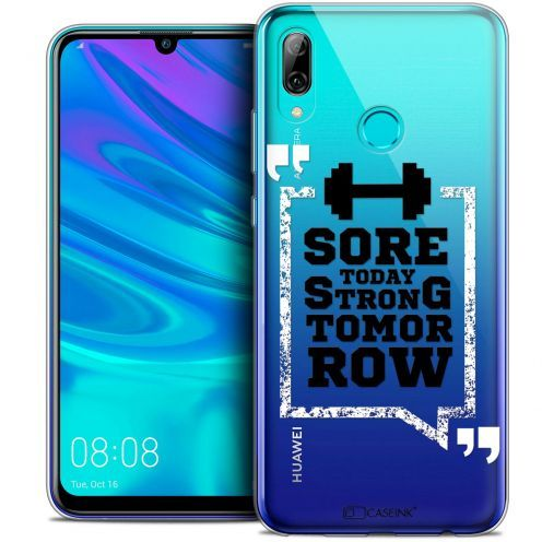 "Coque Crystal Gel Huawei P Smart 2019 (6.21"") Extra Fine Quote - Strong Tomorrow"
