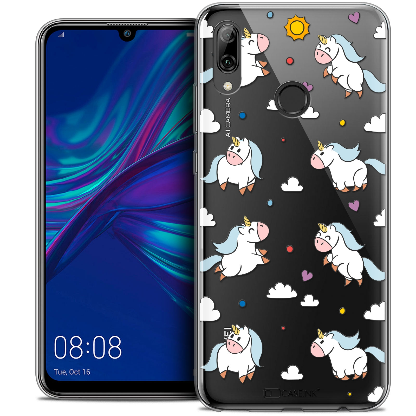 coque huawei p smart rugby