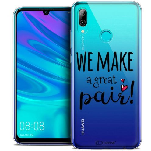 "Coque Crystal Gel Huawei P Smart 2019 (6.21"") Extra Fine Love - We Make Great Pair"