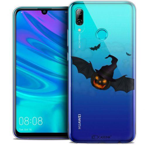 "Coque Crystal Gel Huawei P Smart 2019 (6.21"") Extra Fine Halloween - Chauve Citrouille"