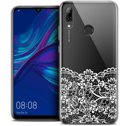 "Coque Crystal Gel Huawei P Smart 2019 (6.21"") Extra Fine Spring - Bas dentelle"