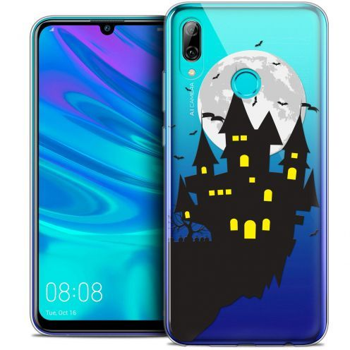 "Coque Crystal Gel Huawei P Smart 2019 (6.21"") Extra Fine Halloween - Castle Dream"