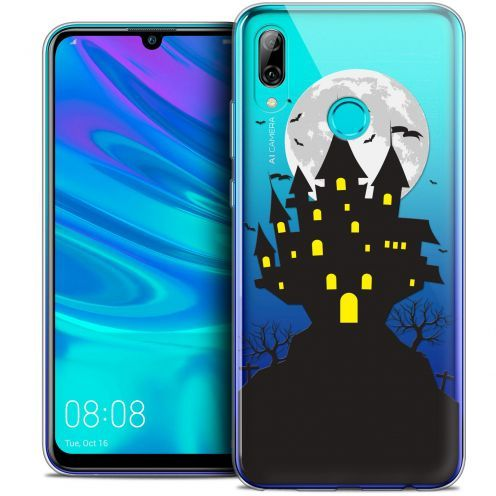 "Coque Crystal Gel Huawei P Smart 2019 (6.21"") Extra Fine Halloween - Castle Scream"