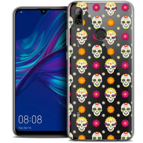 "Coque Crystal Gel Huawei P Smart 2019 (6.21"") Extra Fine Halloween - Skull Halloween"
