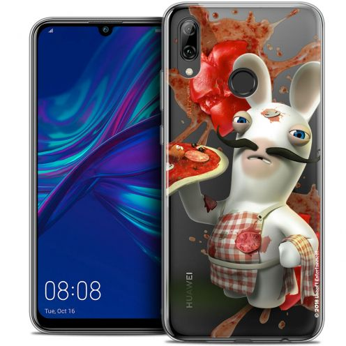 """Coque Gel Huawei P Smart 2019 (6.21"""") Extra Fine Lapins Crétins™ - Cuisinier"""