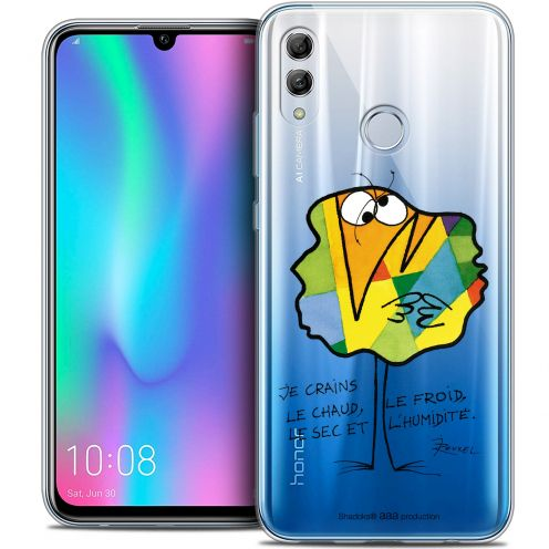 "Coque Gel Huawei Honor 10 LITE (5.8"") Extra Fine Les Shadoks® - Chaud ou Froid"