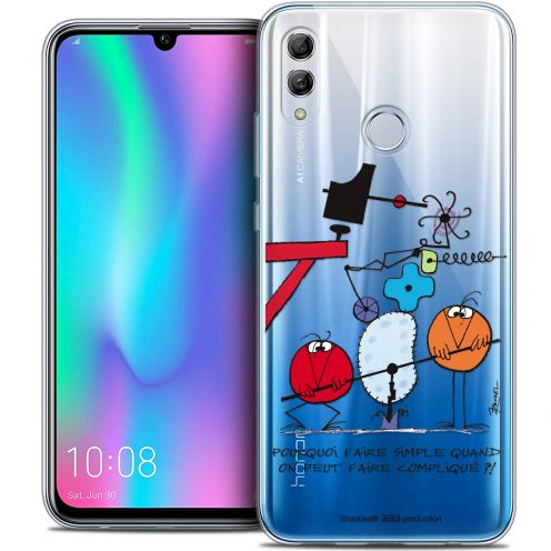 "Coque Gel Huawei Honor 10 LITE (5.8"") Extra Fine Les Shadoks® - Pourquoi faire Simple"