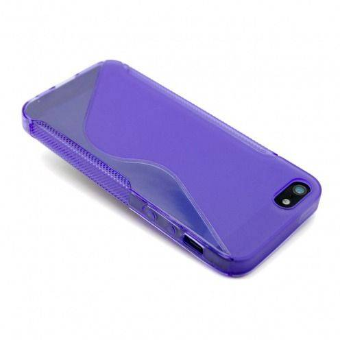 Coque iPhone 5S / 5 Tpu Basics SLine Violette