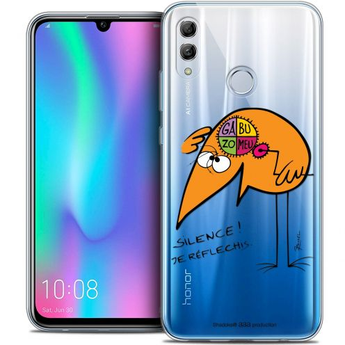 "Coque Gel Huawei Honor 10 LITE (5.8"") Extra Fine Les Shadoks® - Silence !"