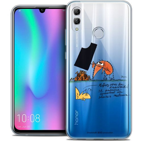 "Coque Gel Huawei Honor 10 LITE (5.8"") Extra Fine Les Shadoks® - Le Travail"
