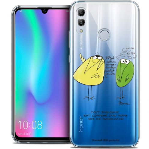 "Coque Gel Huawei Honor 10 LITE (5.8"") Extra Fine Les Shadoks® - Le Dialogue"
