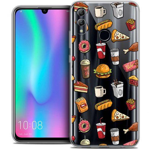 """Coque Crystal Gel Huawei Honor 10 LITE (5.8"""") Extra Fine Foodie - Fast Food"""