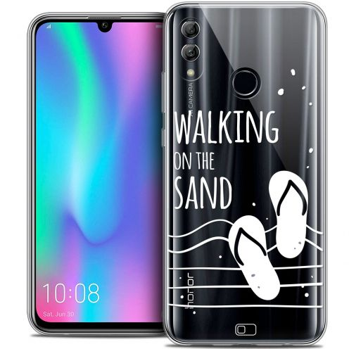 """Coque Crystal Gel Huawei Honor 10 LITE (5.8"""") Extra Fine Summer - Walking on the Sand"""