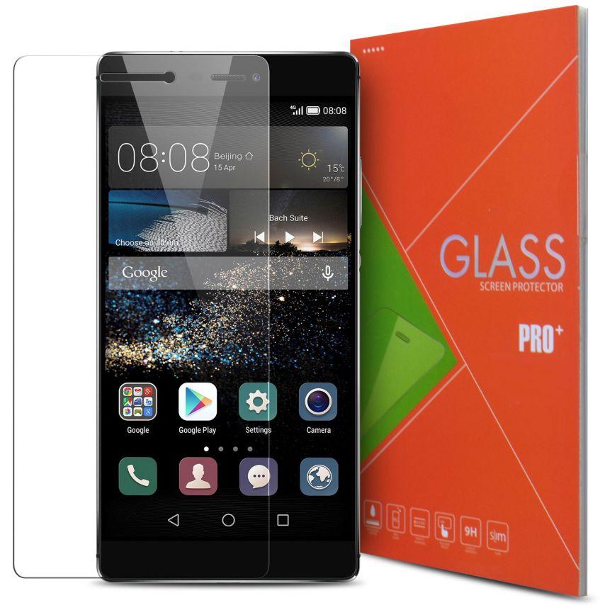 Vue détaillée de Protection d'écran Verre trempé Huawei Ascend P8 - 9H Glass Pro+ HD 0.33 mm 2.5D