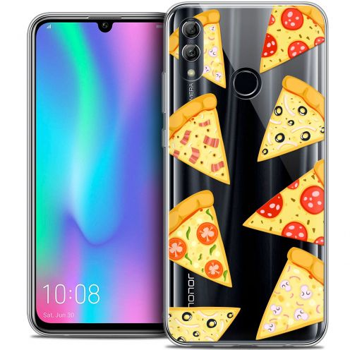 "Coque Crystal Gel Huawei Honor 10 LITE (5.8"") Extra Fine Foodie - Pizza"