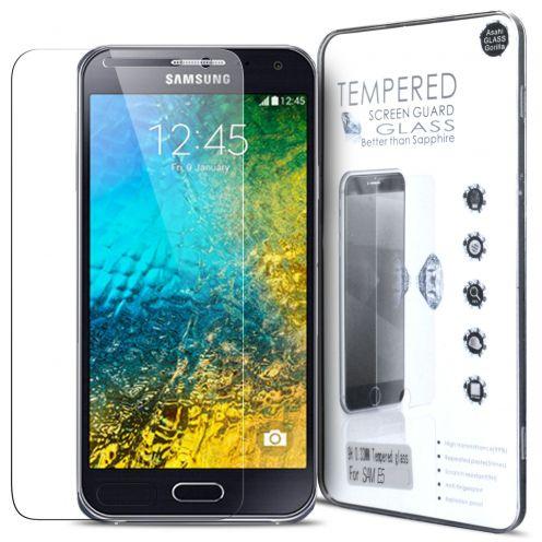 Protection d'écran Verre trempé Samsung Galaxy E5 - 9H Glass Pro+ HD 0.33 mm 2.5D