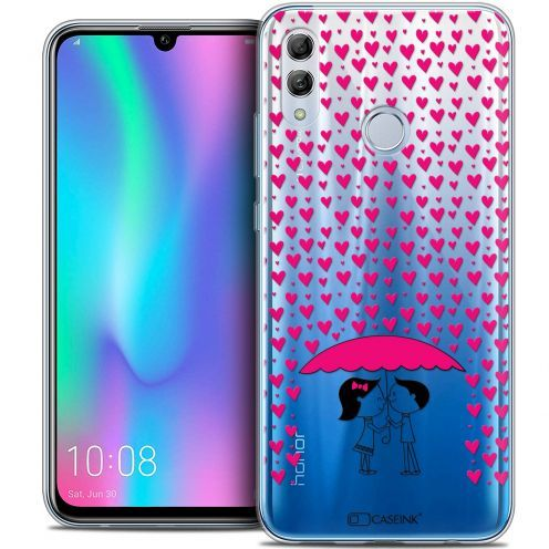 """Coque Crystal Gel Huawei Honor 10 LITE (5.8"""") Extra Fine Love - Pluie d'Amour"""