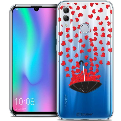 """Coque Crystal Gel Huawei Honor 10 LITE (5.8"""") Extra Fine Love - Parapluie d'Amour"""