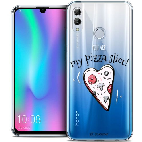 """Coque Crystal Gel Huawei Honor 10 LITE (5.8"""") Extra Fine Love - My Pizza Slice"""