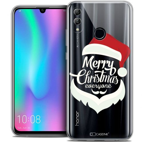 "Coque Crystal Gel Huawei Honor 10 LITE (5.8"") Extra Fine Noël 2017 - Merry Everyone"