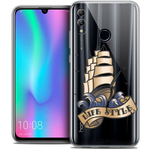 """Coque Crystal Gel Huawei Honor 10 LITE (5.8"""") Extra Fine Tatoo Lover - Life Style"""