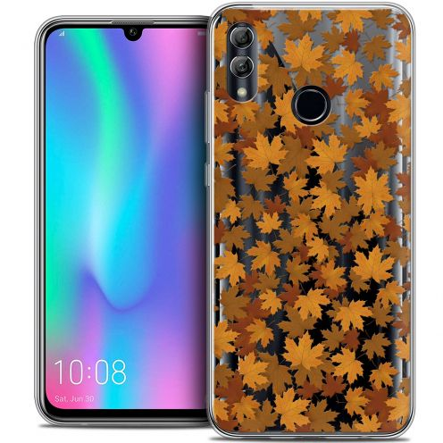 "Coque Crystal Gel Huawei Honor 10 LITE (5.8"") Extra Fine Autumn 16 - Feuilles"