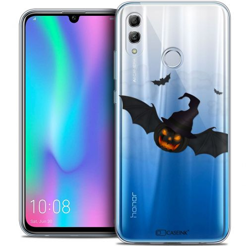 """Coque Crystal Gel Huawei Honor 10 LITE (5.8"""") Extra Fine Halloween - Chauve Citrouille"""