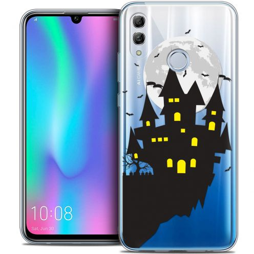 "Coque Crystal Gel Huawei Honor 10 LITE (5.8"") Extra Fine Halloween - Castle Dream"
