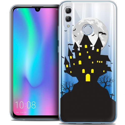"Coque Crystal Gel Huawei Honor 10 LITE (5.8"") Extra Fine Halloween - Castle Scream"