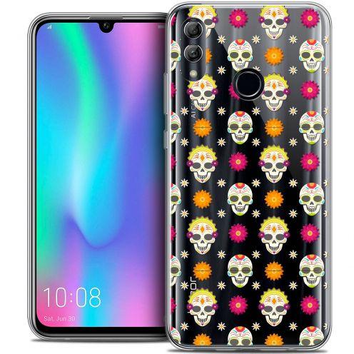 "Coque Crystal Gel Huawei Honor 10 LITE (5.8"") Extra Fine Halloween - Skull Halloween"