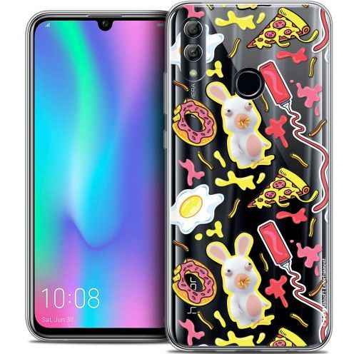 "Coque Gel Huawei Honor 10 LITE (5.8"") Extra Fine Lapins Crétins™ - Egg Pattern"