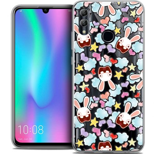 "Coque Gel Huawei Honor 10 LITE (5.8"") Extra Fine Lapins Crétins™ - Love Pattern"