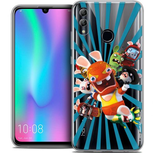 "Coque Gel Huawei Honor 10 LITE (5.8"") Extra Fine Lapins Crétins™ - Super Heros"
