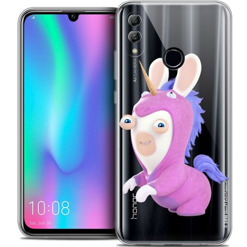 "Coque Gel Huawei Honor 10 LITE (5.8"") Extra Fine Lapins Crétins™ - Licorne"