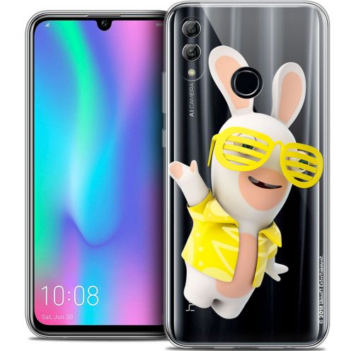 "Coque Gel Huawei Honor 10 LITE (5.8"") Extra Fine Lapins Crétins™ - Sun Glassss!"