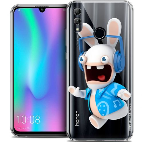 "Coque Gel Huawei Honor 10 LITE (5.8"") Extra Fine Lapins Crétins™ - Techno Lapin"