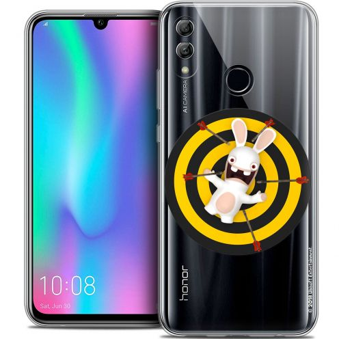 "Coque Gel Huawei Honor 10 LITE (5.8"") Extra Fine Lapins Crétins™ - Target"