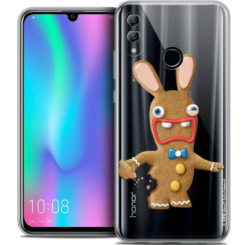 "Coque Gel Huawei Honor 10 LITE (5.8"") Extra Fine Lapins Crétins™ - Cookie"