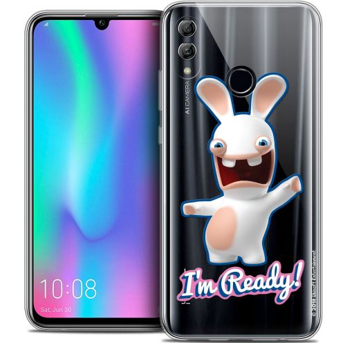 "Coque Gel Huawei Honor 10 LITE (5.8"") Extra Fine Lapins Crétins™ - I'm Ready !"