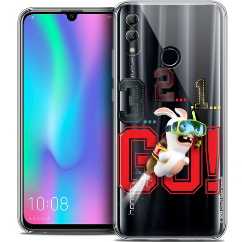 "Coque Gel Huawei Honor 10 LITE (5.8"") Extra Fine Lapins Crétins™ - 321 Go !"