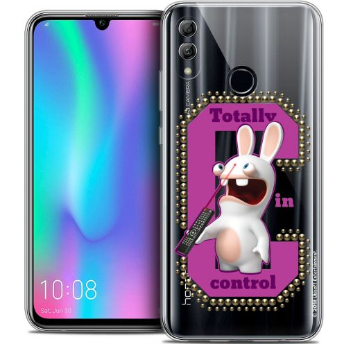 "Coque Gel Huawei Honor 10 LITE (5.8"") Extra Fine Lapins Crétins™ - In Control !"