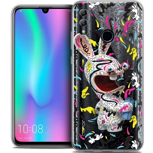 "Coque Gel Huawei Honor 10 LITE (5.8"") Extra Fine Lapins Crétins™ - Tag"