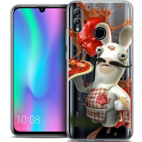 "Coque Gel Huawei Honor 10 LITE (5.8"") Extra Fine Lapins Crétins™ - Cuisinier"