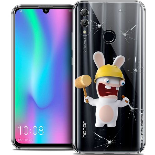 "Coque Gel Huawei Honor 10 LITE (5.8"") Extra Fine Lapins Crétins™ - Breaker"