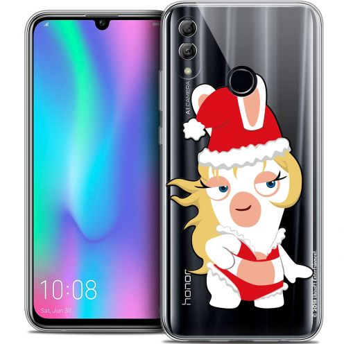 "Coque Gel Huawei Honor 10 LITE (5.8"") Extra Fine Lapins Crétins™ - Lapin Danseuse"