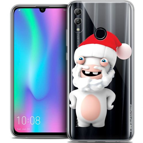 "Coque Gel Huawei Honor 10 LITE (5.8"") Extra Fine Lapins Crétins™ - Lapin Noël"